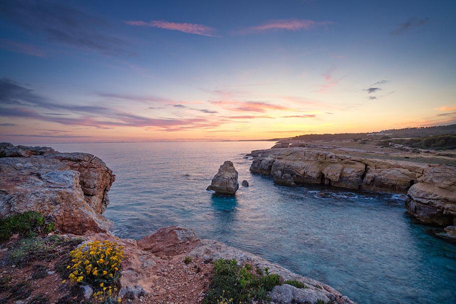 Atardecer Mar Menorca